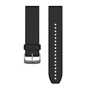 Correa de silicona QUICKFIT para reloj S60 negro