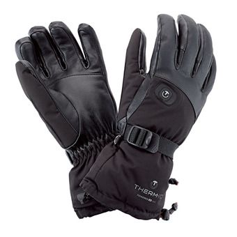 Therm-Ic POWERGLOVES V2 - Guantes calefactables mujer negro
