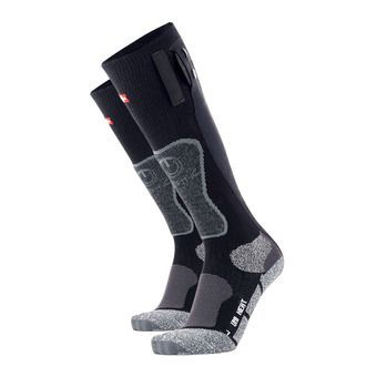Therm-Ic POWERSOCKS HEAT - Calcetines calefactables negro/gris