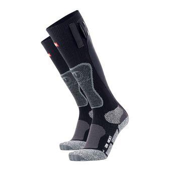 Therm-Ic POWERSOCKS HEAT - Chaussettes chauffantes noir/gris