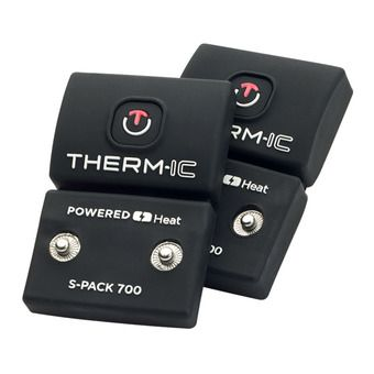 Therm-Ic S-PACK 700 - Baterías x 2 negro