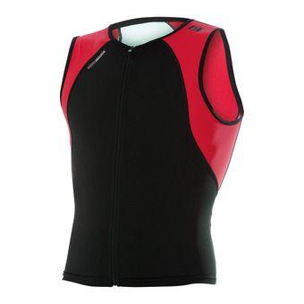 Camiseta uSINGLET black/red/white
