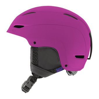 Casque RATIO matte berry