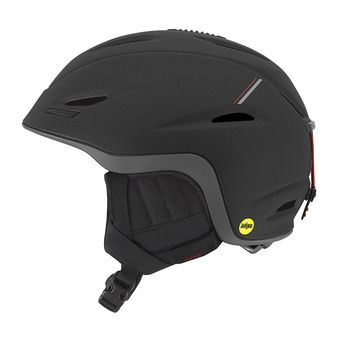 Casque UNION MIPS black/red sport tech