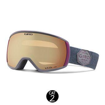Gafas de esquí mujer FACET berry - cooper