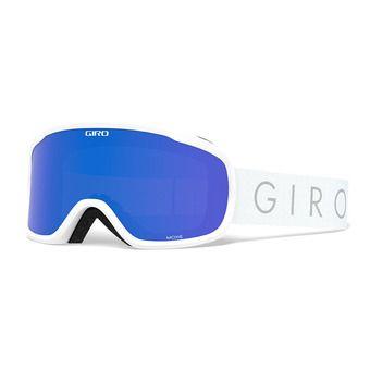 Giro MOXIE - Masque ski Femme white core light grey cobalt