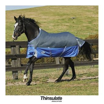 Manta de paddock COMFITEC THERMIC 350g black.berry