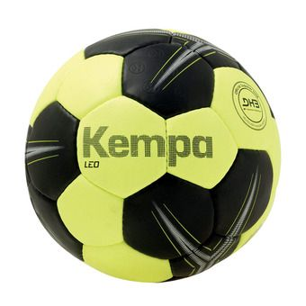 Kempa LEO - Ballon handball violet jaune fluo/noir
