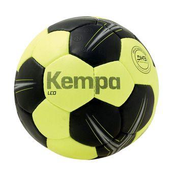 Kempa LEO - Balón de balonmano violet yellow fluo/black