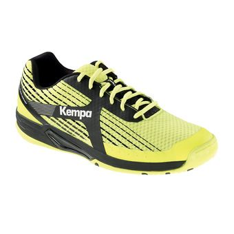 Kempa WING CAUTION - Zapatillas de balonmano hombre yellow fluo/anthracite/black