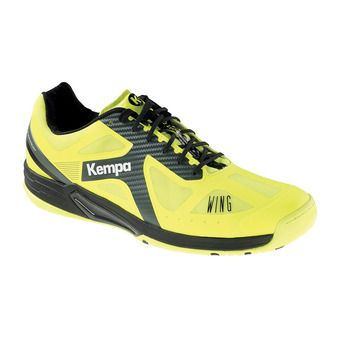 Kempa WING LITE CAUTION - Chaussures hand Homme jaune fluo/anthracite/noir