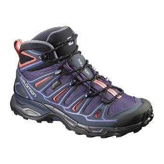 Zapatillas de senderismo mujer X ULTRA MID 2 GTX nightshade/b