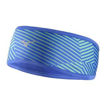 Cinta deportiva WARMA LITE blue/electric green