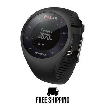 Montre cardio connectée M200 GPS noir