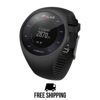 Reloj pulsómetro conectado M200 GPS negro