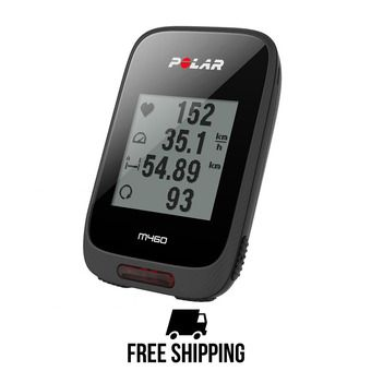 Compteur vélo GPS M460 noir