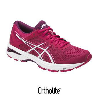 Chaussures running femme GT-1000 6 cosmo pink/white/prune