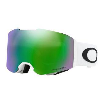 Masque de ski FALL LINE matte white - prizm snow jade iridium®