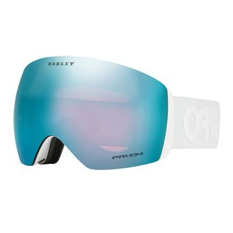 Oakley FLIGHT DECK - Masque ski factory pilot whiteout/prizm sapphire iridium