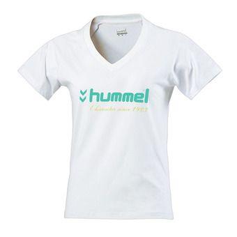 Hummel UH 18 - Tee-shirt Femme blanc ceramic