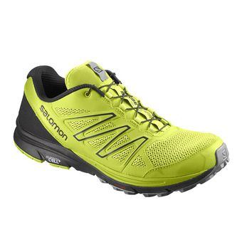 Chaussures trail homme  SENSE MARIN lime green/Bk/quarry