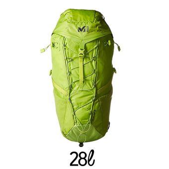 Mochila de senderismo 28L PULSE acid green