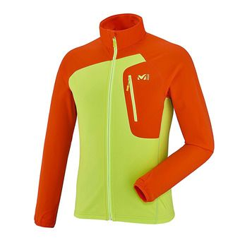 Chaqueta polar hombre PIERRA MENT acid green/orange