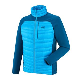 Chaqueta híbrida hombre HEEL LIFT DOWN electric blue/poseidon