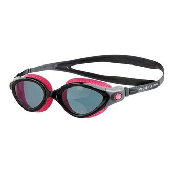 Speedo FUTURA BIOFUSE FLEXISEAL - Gafas de natación mujer pink/smoke