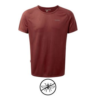 Camiseta hombre BASELAYER red earth