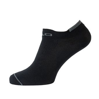 Odlo CERAMICOOL LIGHT - Socks - black/steel grey