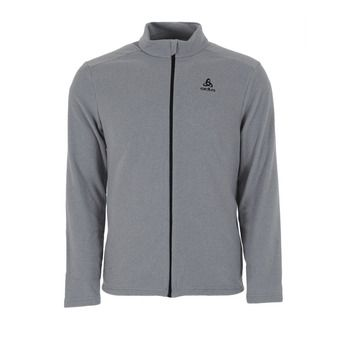 Sweat zippé homme BERGEN odlo concrete grey
