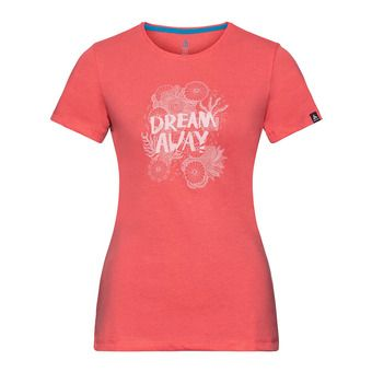 Camiseta mujer KUMANO 18 dubarry/placed print