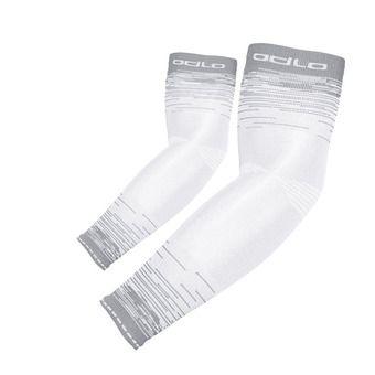 Manchettes CERAMICOOL UVP white/odlo silver grey