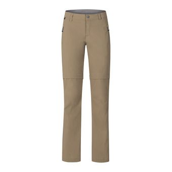Odlo WEDGEMOUNT - Pantalon convertible Femme lead gray