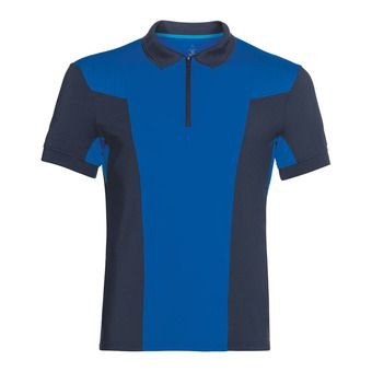 Polo hombre SAIKAI CERAMICOOL diving navy/energy blue