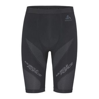 Cuissard homme MUSCLE FORCE SUW black/platinum grey
