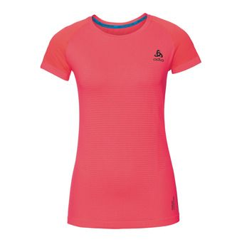 Odlo CERAMICOOL MOTION - Maillot Femme fiery coral