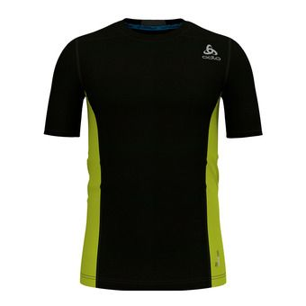 Camiseta hombre CERAMICOOL PRO black/acid lime