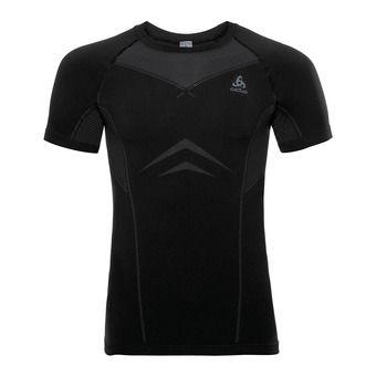 Camiseta hombre PERFORMANCE LIGHT black/odlo graphite grey