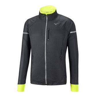 Chaqueta hombre STATIC BT WINDPROOF black/safety yellow