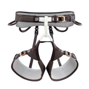 Petzl AQUILA - Harness - dark brown
