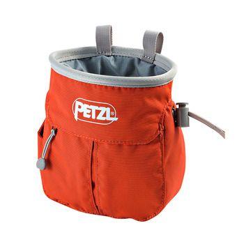 Petzl SAKA - Chalk Bag - orange