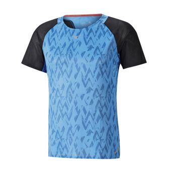 Maillot MC homme AERO diva blue/black