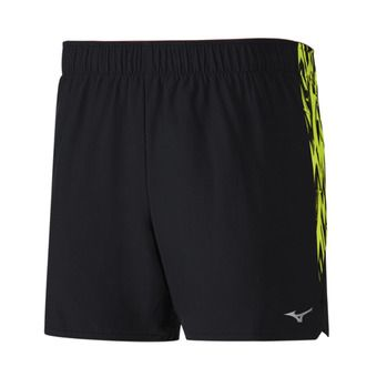 Short homme ALPHA 5.5 black/safety yellow