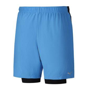 Short homme ALPHA 7.5 5 2in1 diva blue/black