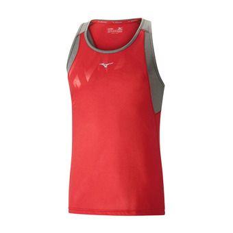 Mizuno ALPHA VENT - Camiseta hombre mars red/castlerock