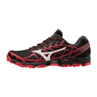 Zapatillas de trail hombre WAVE HAYATE 4 black/silver/formulaone