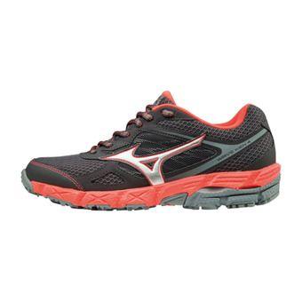 Zapatillas de trail mujer WAVE KIEN 4 magnet/silver/fierycoral
