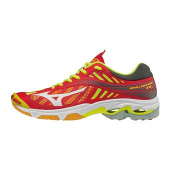 Zapatillas de voleibol hombre WAVE LIGHTNING Z4 red/white/yellow